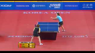 Liu Shiwen vs Zhu Yuling (Semi Final)