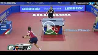 Timo Boll vs Simon Gauzy (Semi Final)