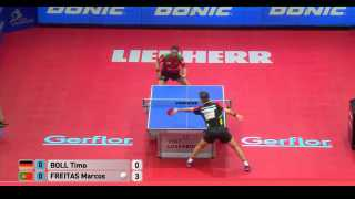 Timo Boll vs Marcos Freitas (Final)