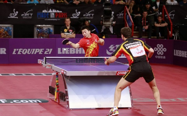 Tabletennisdaily timo boll is very happy to team up wiith ma long in doubles video - Champion de tennis de table ...