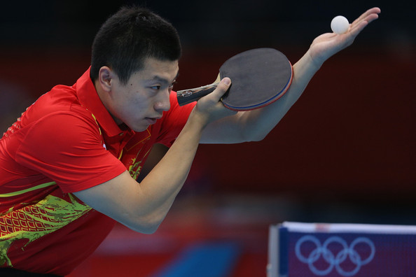 July world rankings 2013 for Table tennis serving rules