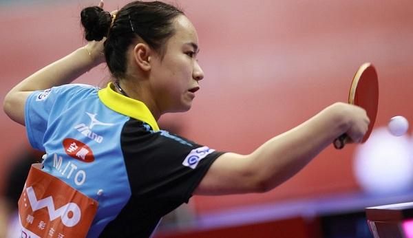 Mima Ito TableTennisDaily SENSATIONAL 15 year old Mima Ito defeats Ding