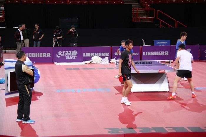2009 DW F GUO Yue Li Xiaoxia vs Ding Ning GOU Yan