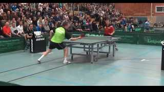 Timo Boll vs Jan-Ove Waldner