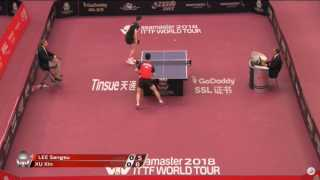 Xu Xin vs Lee Sangsu (R16)