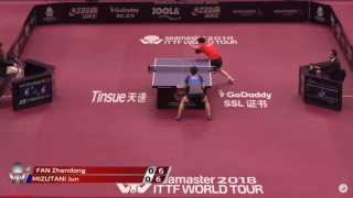 Fan Zhendong vs Jun Mizutani (R16)
