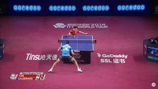 Fan Zhendong vs Hugo Calderano (Final)