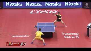 Ma Long vs Tomokazu Harimoto (1/4)
