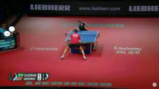 Vladimir Samsonov vs Hugo Calderano (Groups)