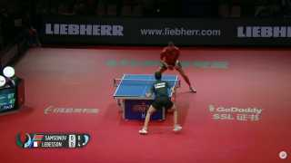 Vladimir Samsonov vs Emmanuel Lebesson (Groups)