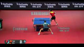 Fan Zhendong vs Timo Boll (Final)